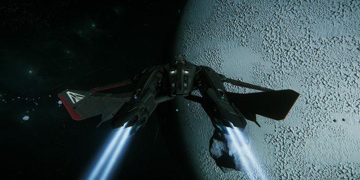 Star Citizen cette semaine : Vol atmosphérique et le fantôme de GrimHEX !