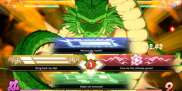 Shenron exaucera vos vœux dans Dragon Ball FighterZ !