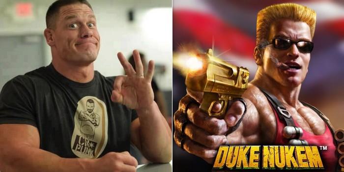 La bonne idée du jour : John Cena pourrait être le héros de Duke Nukem !