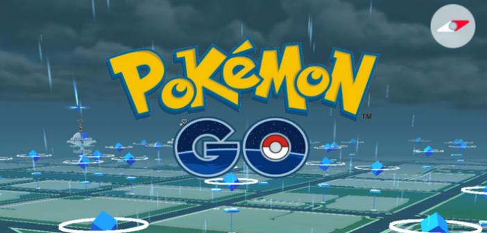Pokémon Go et la météo la petite combine bien utile !
