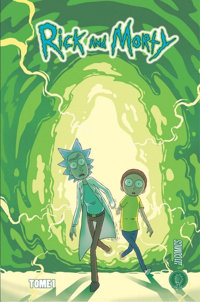 Critique Comics Rick & Morty tome 1 : Wubba Lubba Dub Dub !