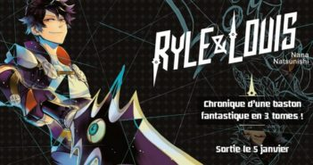 Critique Manga Ryle & Louis tome 1 : arme à double tranchant