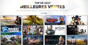 Steam fait son bilan des meilleurs jeux 2017_1