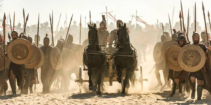 Critique Troy : Fall of a City saison 1 épisode 1 : fraicheur historique