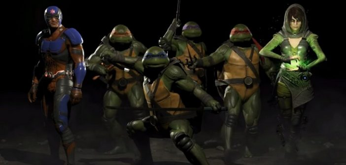Injustice 2 les Tortues Ninja s'invitent à la fête !