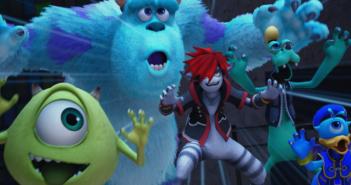 Kingdom Heart 3 : un trailer riche en Monstres & cie !