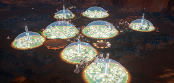 Preview, Surviving Mars dômiciliation difficile _MarsSteam
