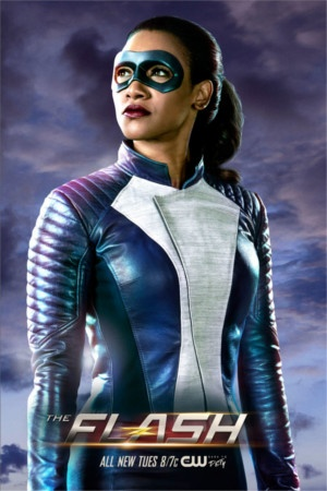 The Flash: Iris s'affiche dans son costume de super-héroïne