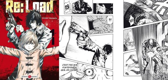 Critique Manga Re:Load tome 1 : du polar Hard Boiled chargé à bloc !