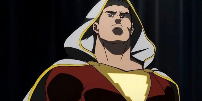 Shazam : une photo de tournage nous montre le costume du héros !