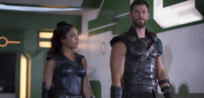 Men in Black : Hemsworth, Thompson, le duo de Thor : Ragnarok réuni !