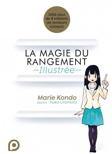 Critique Manga – La Magie du rangement illustrée pour être une fée du logis