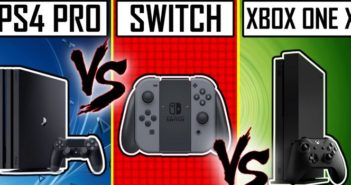 Due de consoles Switch vs PS4 Pro vs Xbox One X