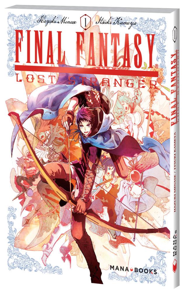 Critique Manga – Final Fantasy Lost Stranger tome 1 : terrain (in)connu