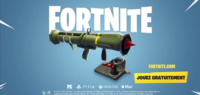 Fortnite Battle Royale : bye bye missile guidé