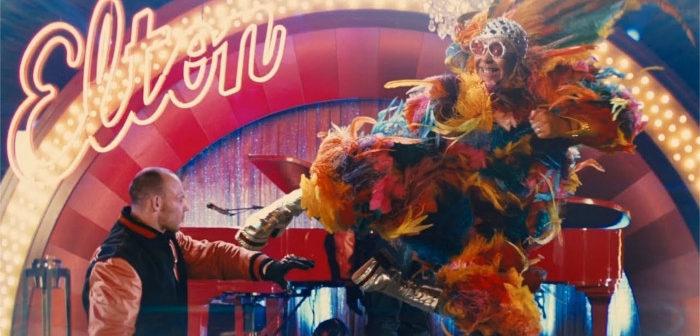 Taron Egerton est… Elton John dans Rocketman