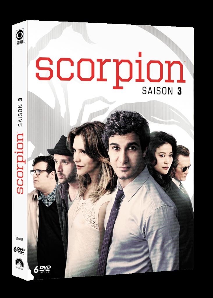 Concours Scorpion saison 3 : 2 coffrets 6 DVD à gagner !