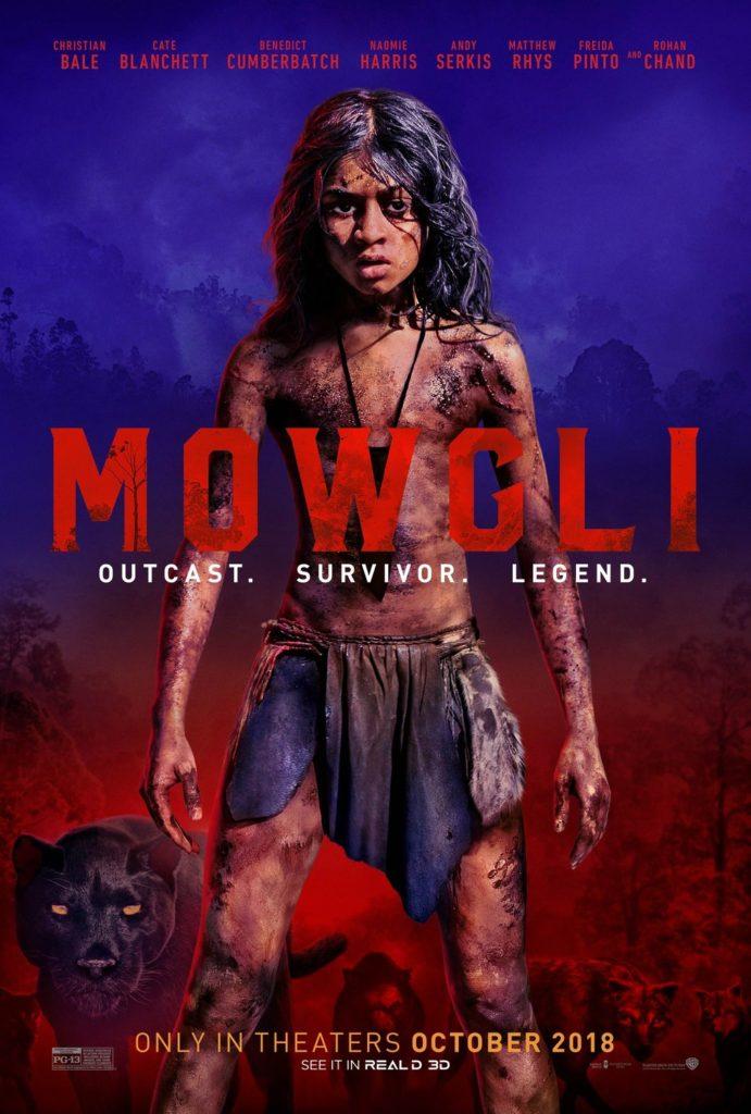 Mowgli : bande-annonce d'un Livre de la Jungle très sombre