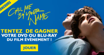 Concours Call me by your name : 3 Blu-ray et 2 DVD à gagner !