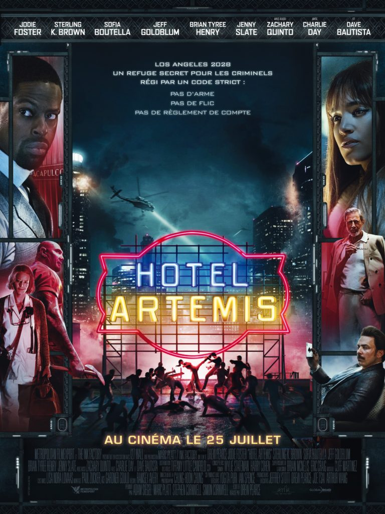 Hotel Artemis : une bande-annonce entre The Raid et John Wick