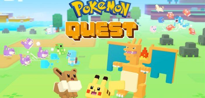 Aprs la Switch, Pokémon Quest arrive sur mobiles !