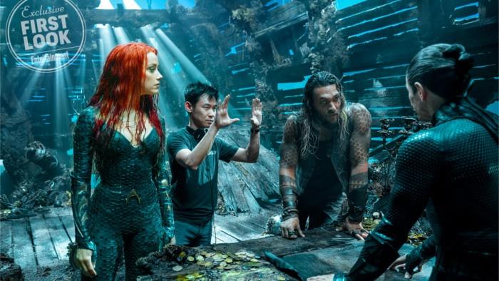 Aquaman: pas encore de trailer, mais plein d'images!