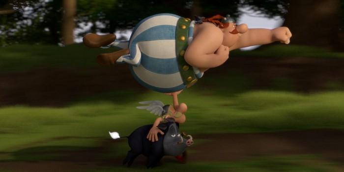 Astérix - Le secret de la potion magique : une affiche Panoramix