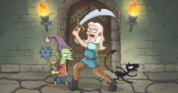 Désenchantée: premier teaser pour la nouvelle série du créateur des Simpson