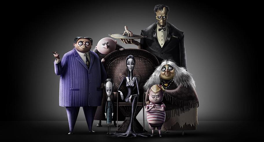 La Famille Addams : une image et Oscar Isaac et Charlize Theron au doublage