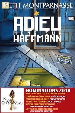 Spectacle Adieu Monsieur Haffmann_le chef d'œuvre aux 4 Molières