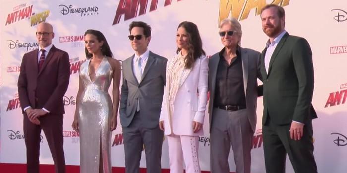 Ant-Man et la Guêpe : rencontre avec l'équipe du film Marvel