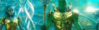 Aquaman : le Fisherman King se la joue Chevalier du Zodiaque et un poster