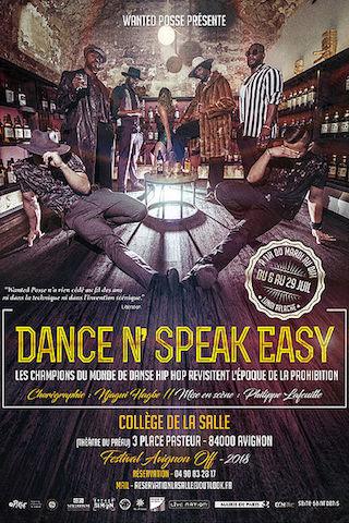 Avignon 2018 - Dance N'Speak Easy2