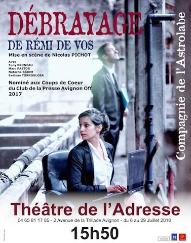 Avignon 2018 - Débrayage