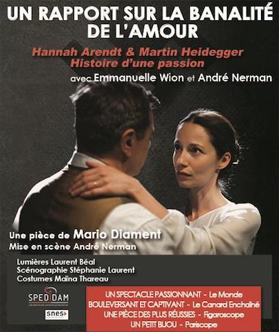 Avignon 2018 - Un rapport sur la banalité de l'amour