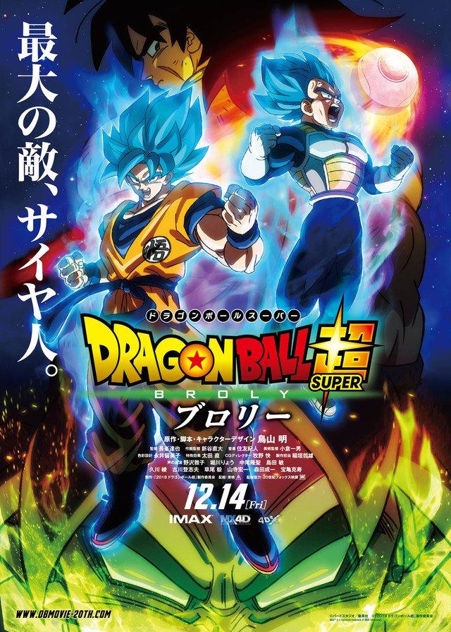 Dragon Ball Super : le film s'articulera autour de Broly !