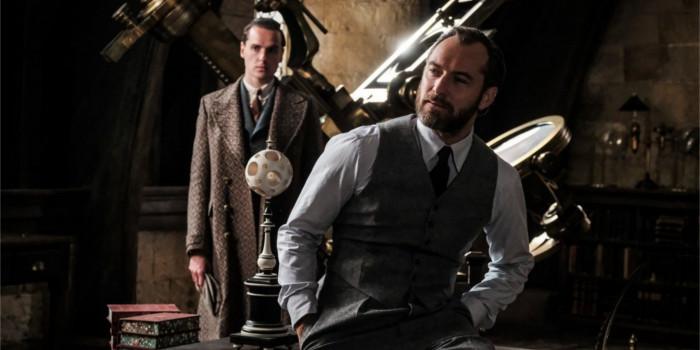 Les Animaux Fantastiques 2: Dumbledore et Norbert sur une nouvelle image!