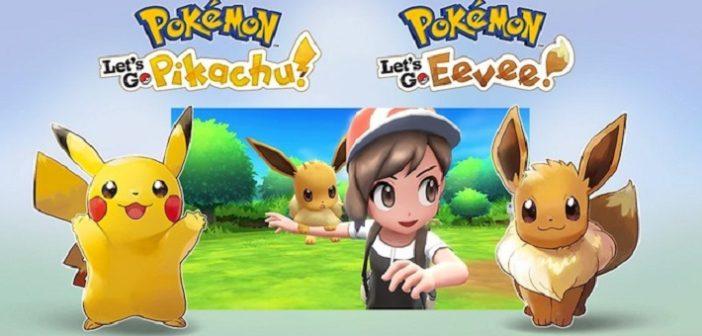 Pokémon Let's GO dévoile un nouveau trailer !