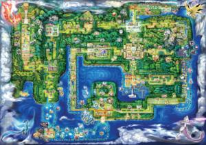 Pokémon Let's Go, PikachuetÉvoli voici de nouveaux détails !_Let_sGO_Map CArte kanto