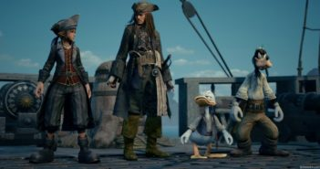 Preview Kingdom Hearts III Sora, Donald, Dingo s'installent chez Woody