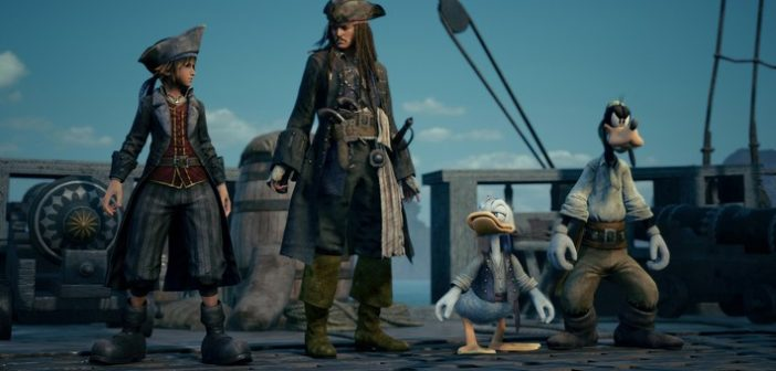 Preview Kingdom Hearts III : Sora, Donald, Dingo s'installent chez Woody