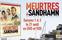 Concours Meurtres à Sandhamn saison 1 et 2 : 3 coffrets DVD à gagner