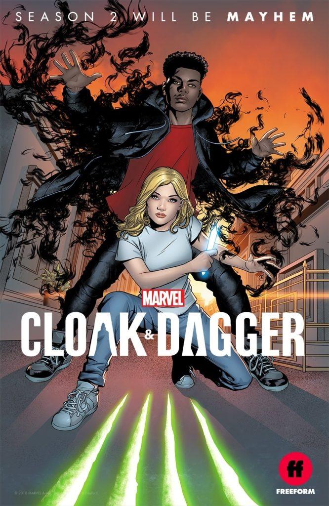 [Comic-Con 2018] Marvel's Cloak & Dagger renouvelée pour une saison 2