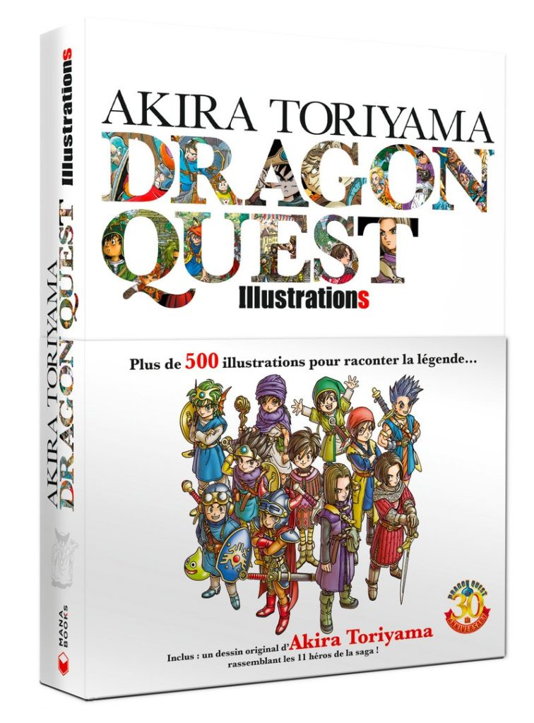 Critique Artbook - Akira Toriyama Dragon Quest Illustrations : le maître à l'œuvre