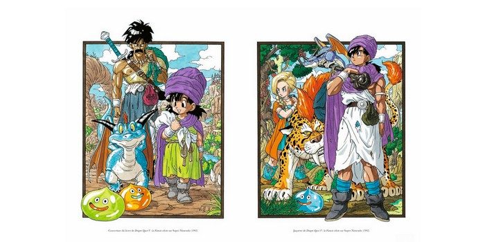 Critique Artbook Akira Toriyama Dragon Quest Illustrations : le maître à l'œuvre