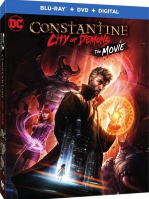 Constantine: City of Demons – un trailer et une sortie blu-ray