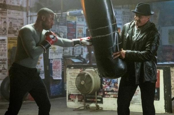 Creed II : deux nouvelles photos d'Adonis et Rocky