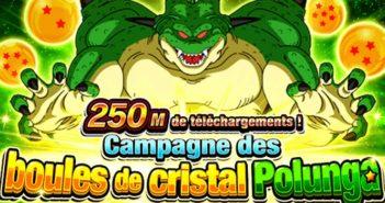 Dragon Ball Z Dokkan Battle : comment obtenir le 1er set des boules de cristal Polunga 250M