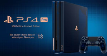 Sony présente une PlayStation 4 Pro spéciale pour les 500 millions de ventes