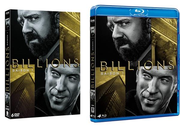Concours Billions saison 1 : 1 coffret 6 DVD + 1 coffret 4 Blu-ray™ à gagner !